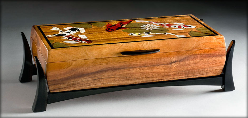 Custom Handcrafted Wood Jewelry Boxes Sincerbeaux Woodworks